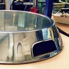 Aluminium Dog Bowl 1220mm Diameter